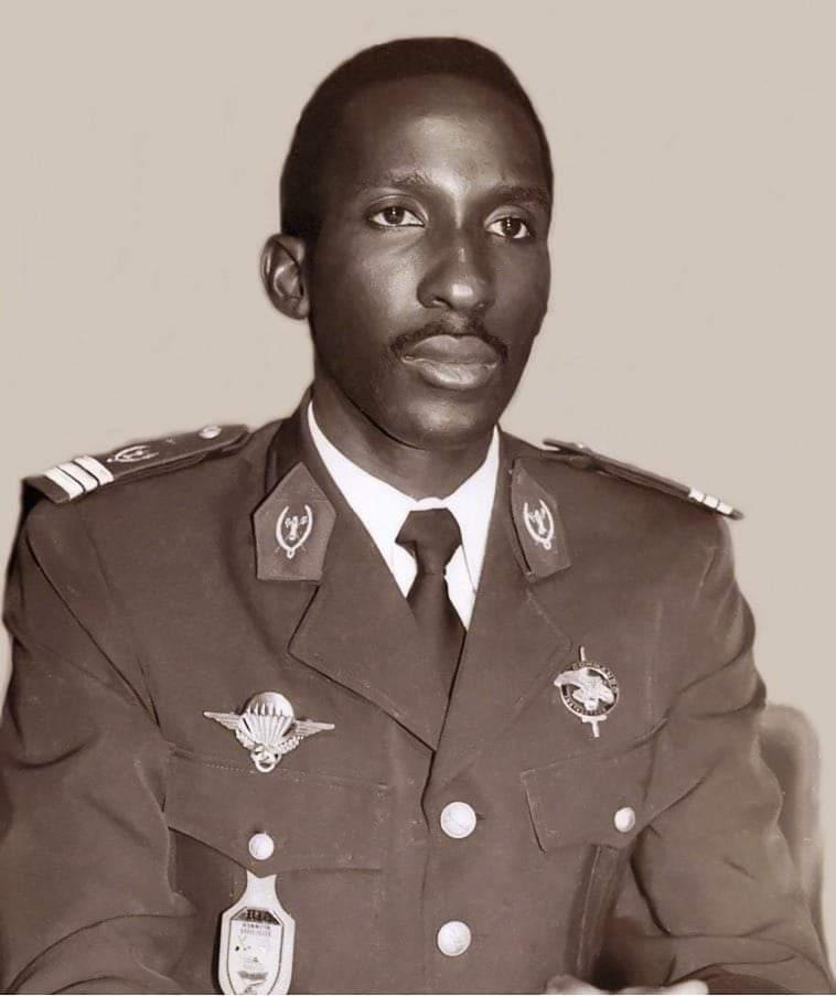 Père de la Révolution burkinabé, Thomas  Isidore Noël  SANKARA, assassiné le 15 octobre 2021.