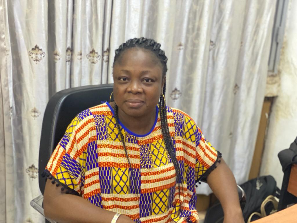 Mme Aby OUATTARA, Vice- Présidente de la Commission Accréditations, Rélations publiques du 27 è FESPACO