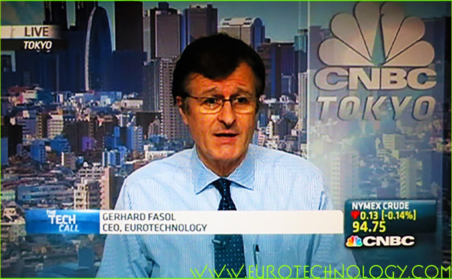 Gerhard Fasol CNBC
