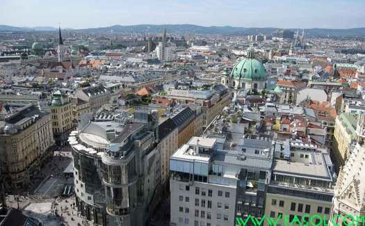 Views from the South Tower of Stephansdom
