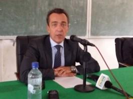 2- Xavier -Lapeyre -de –Cabanes-ambassadeur- de -France –au- Burkina