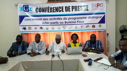 Dialogue-interparti-Burkina faso