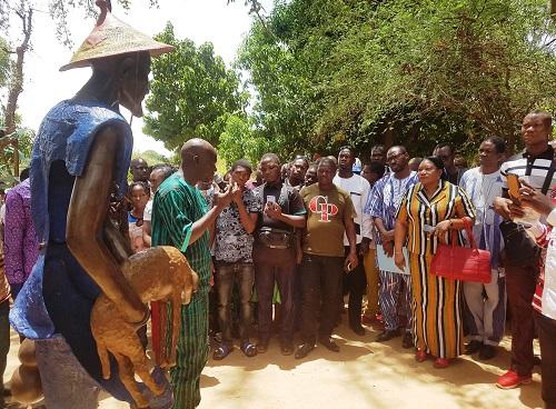 Journée-internationale -des -musées -Salfo -Dermé –partage- sa –vision- du - monde- idéal