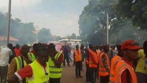 Marche de l'UAS:des manisfestants dispersés -à gaz- lacrimogène