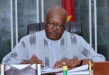 Declaration- du -Président -du Faso