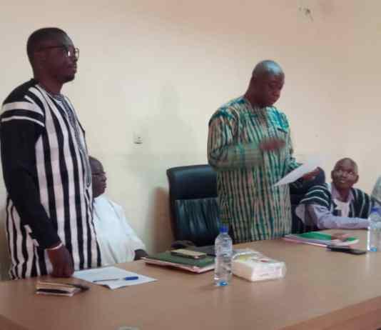 Gaoua-Jules- Dah- le –nouveau- Directeur -régional –de- l'agriculture -du -sud-ouest