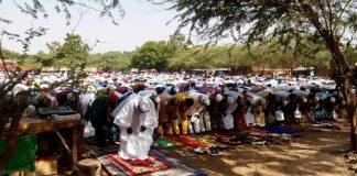 Ramadan –à- Gaoua - les -musulmans -ont -prié –pour- la –paix- et- la- cohésion- sociale