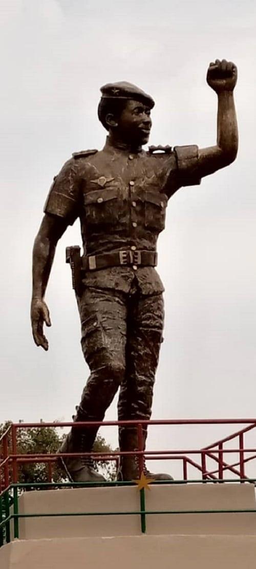 Statue- de- Thomas- Sankara- cette- fois-ci –c-est- lui !