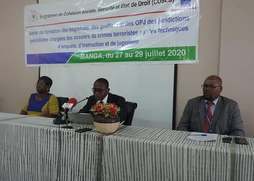 Dossiers -de -crimes -terroristes -des –acteurs- des- juridictions- pénales -spécialisées –renforcent- leur -capacité