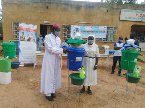 OCDES-caritas-Burkina-Banfora-COVID-19