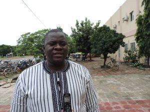 Le coordonnateur de ADIJR, Kalifa Kabré s'est dit satisfait de la mobilisation des jeunes.