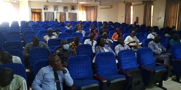 Les participants issus des 11 communes du Sanmatenga