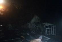 Accident- de- route -3- morts –dans- l-incendie- d-un -car