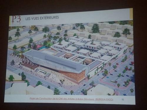 Cité- des- artistes- à -Bobo-Dioulasso- le- projet- va- coûter- environ- 25- milliards- de- FCFA