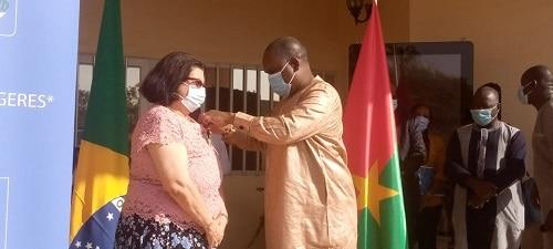 Diplomatie- l-ambassadrice- du- Brésil- au- Burkina –Faso- est -en –fin- de -mission
