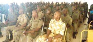 Lutte –contre- la- corruption-les- Unitariens –du- Faso- sensibilisent- des -élèves -policiers