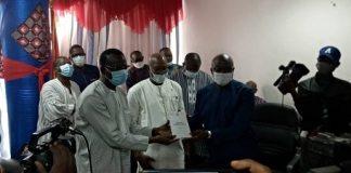 Ministère -de -l-Habitat- de- l-Urbanisme –et- de –la- Ville Me- Bénéwendé- Sankara -prend –son- bâton- de- commandement