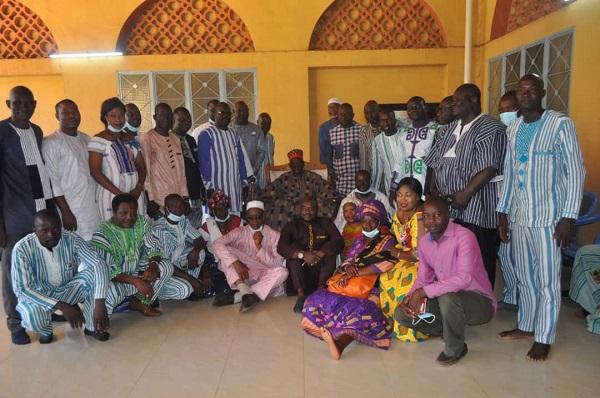 Economie- le -CNEI-BF- demande- des- bénédictions- au- Mogho- Naaba