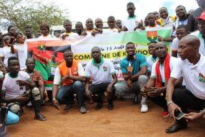 Koudougou –Hugues- Fabrice- Zango- fait - citoyen -d'Honneur -de –la- ville
