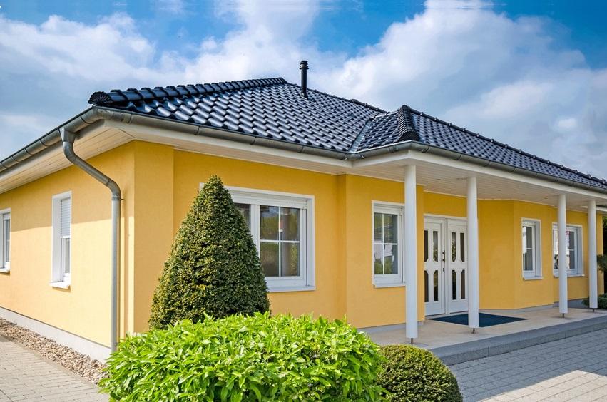 Fassadenbeschichtung Bungalow