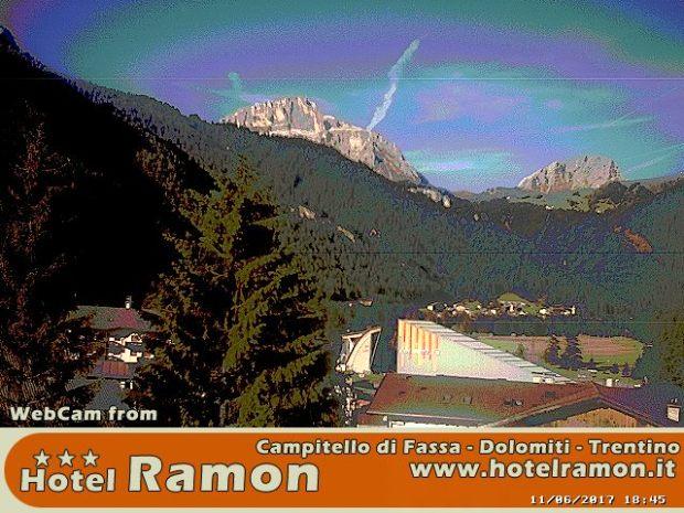 Webcam Hotel Ramon - Campitello di Fassa