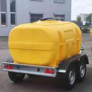 Wasserfass Anhänger für PKW und Auto