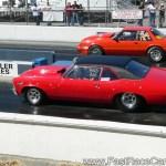Drag Race Cars Novas Picture Of Red Nova Drag Car With Black Vinyl Top