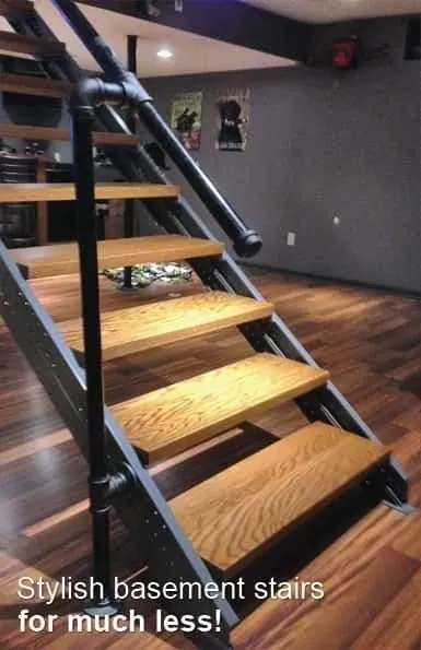 Fast Stairs Stringer Kits Easy To Use Under 1 Hour | Pre Built Wood Stairs | Exterior | Landing | Free Standing | Lvl | Basement
