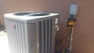 Guages on Air Conditioner