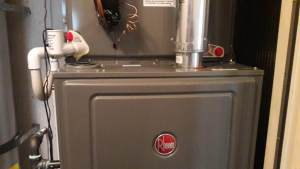 New Rheem Furnace Installation