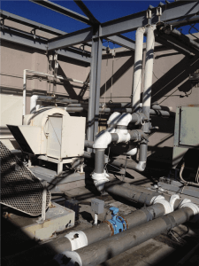 Rooftop Industrial Air Conditioning equipment