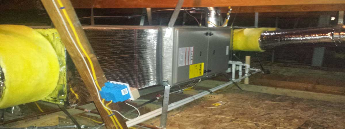Furnace repair installation in the city of Whittier