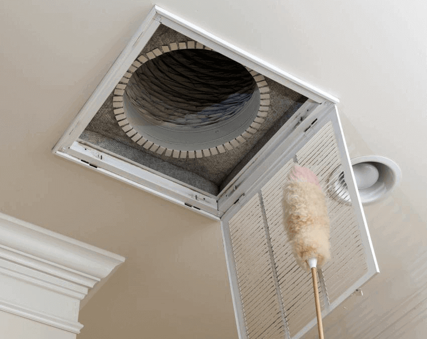 Let Comfort Time clean your ducts and vents
