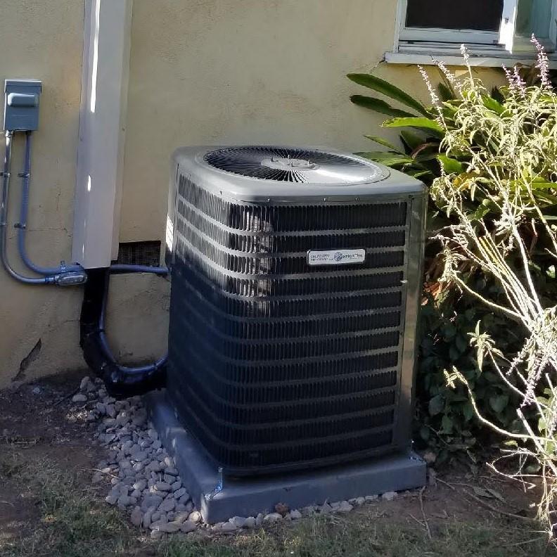 HVAC Condenser install