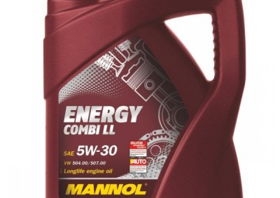 Mannol Energy 5w30 LONGLIFE 5 liter voor €32,-
