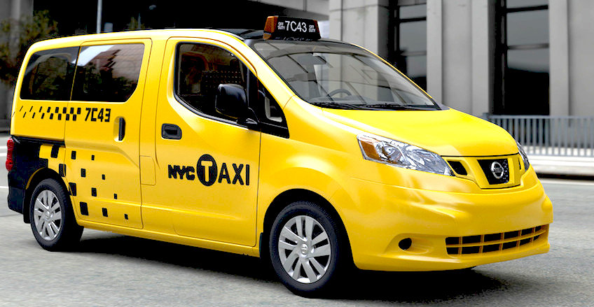 New York City NV200 Nissan