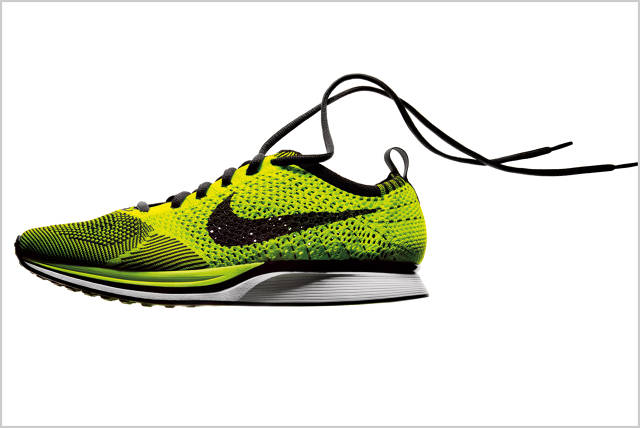 Flyknit was powered by athletes' input, says Tony Bignell, director of  footwear innovation at Nike's Innovation Kitchen. And what they wanted, ...