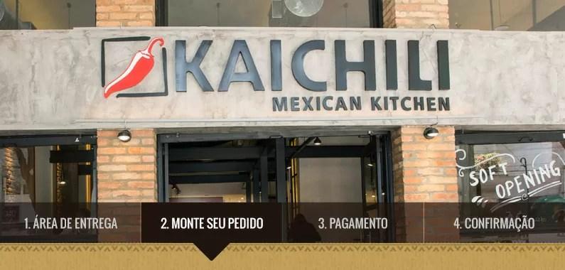 Comida Mexicana Rápida se pede de casa: como desenvolvemos o sistema de pedidos on-line da Kaichili