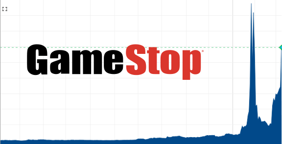 What's going on with the GameStop shares?