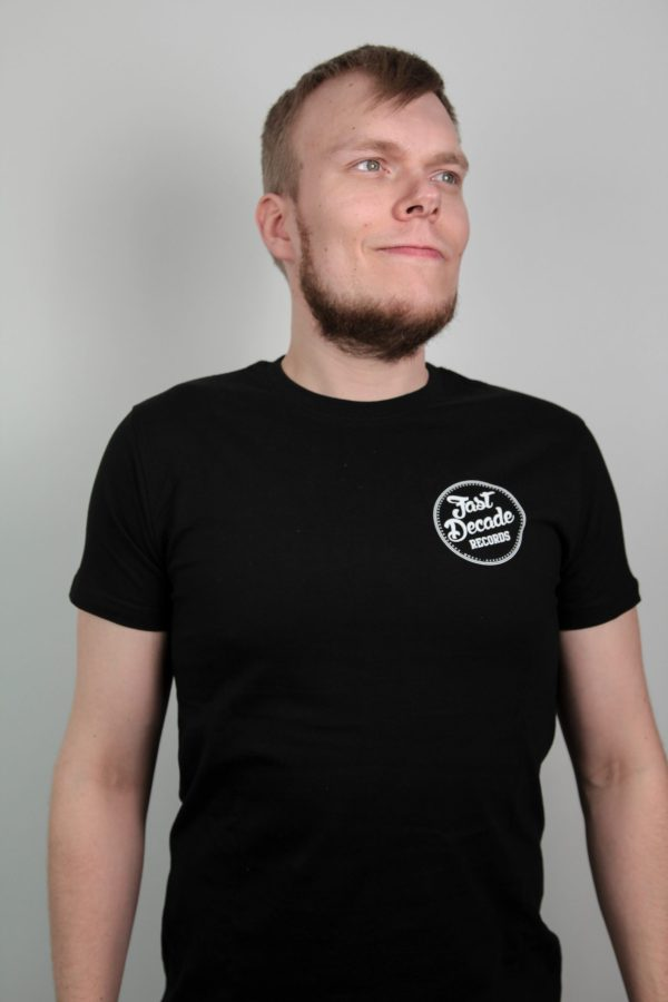 Fast Decade Records t-shirt support