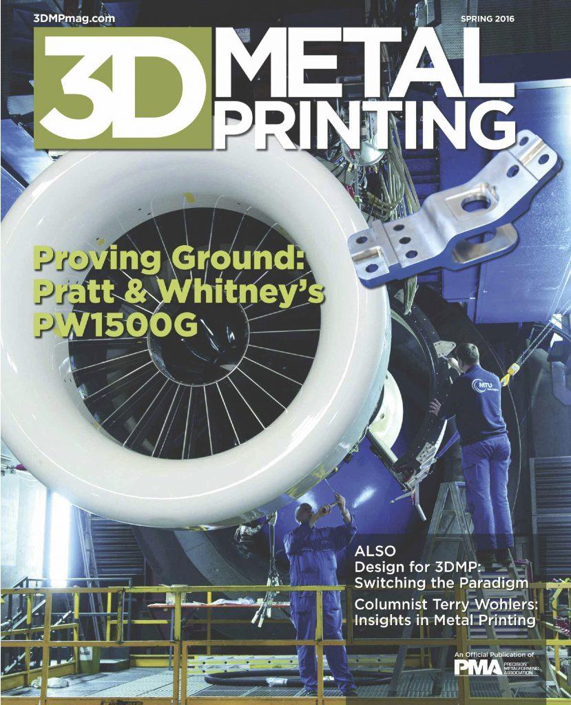 3D Metal Printing, Spring 2016