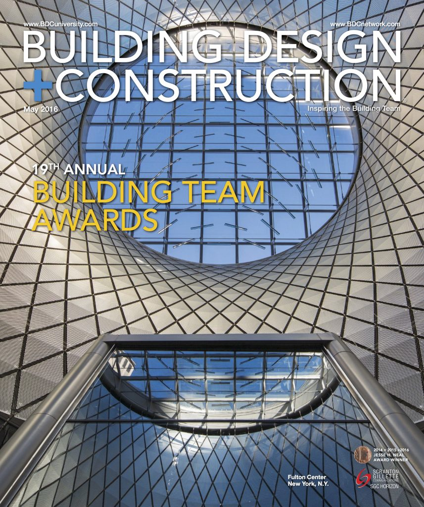 Building Design and Construction May 2016