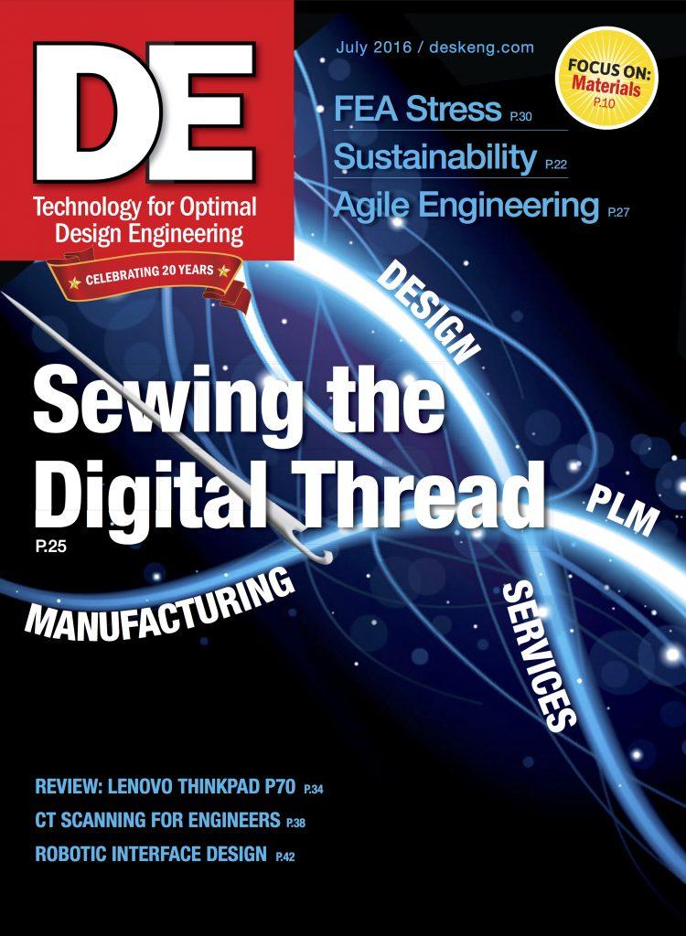 Desktop Engineering July 2016 COVER