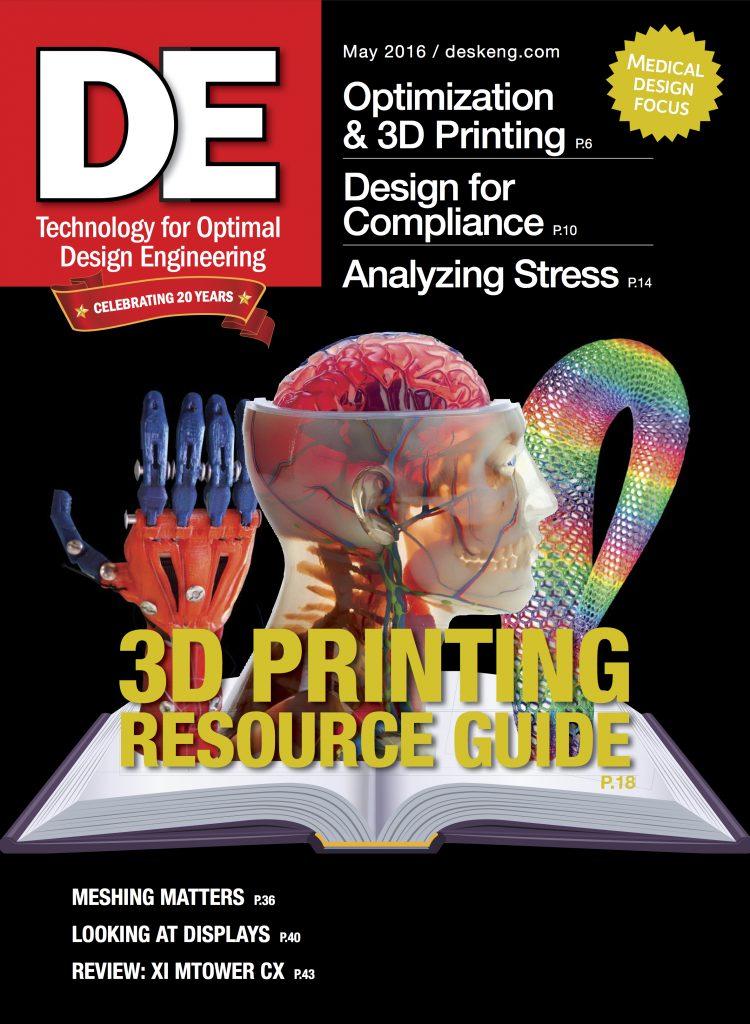 Desktop Engineering May 2016 COVER