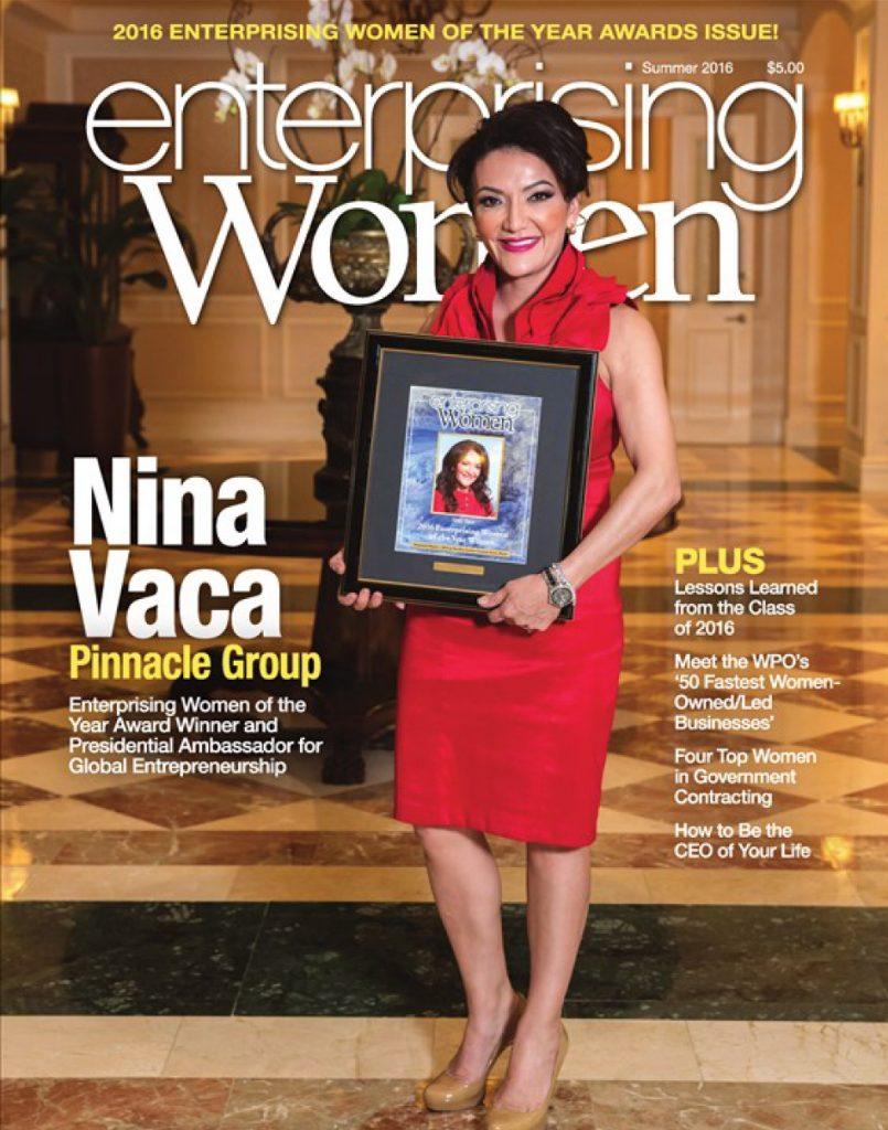 Enterprising Women Summer 2016 Cover