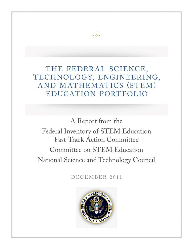 Federal STEM Education Portfolio