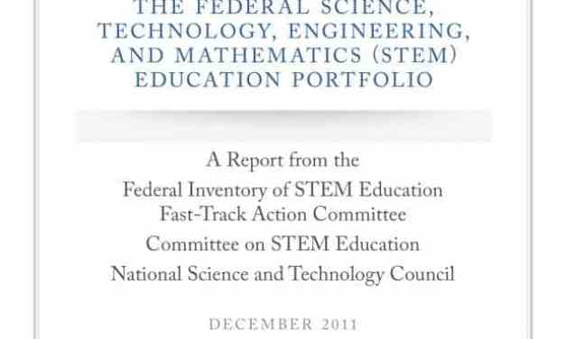 Federal STEM Education Portfolio