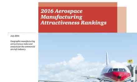2016 Aerospace Manufacturing Attractiveness Rankings
