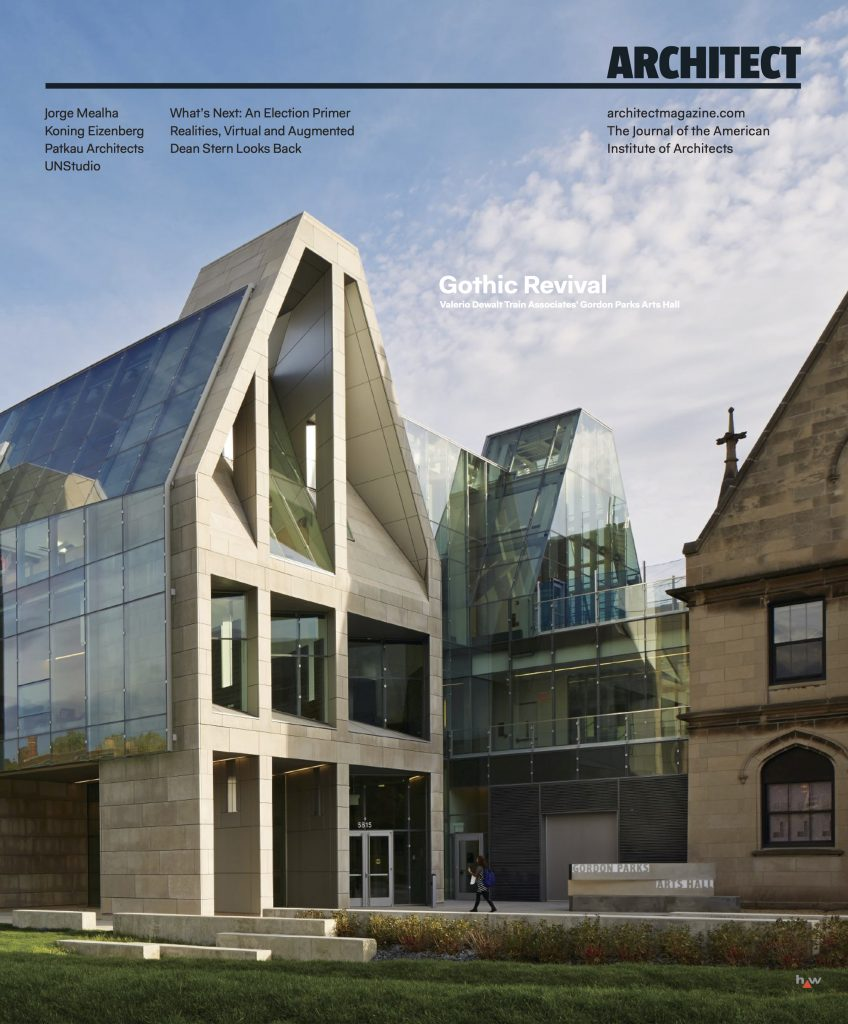 architect magazine cover january 2016