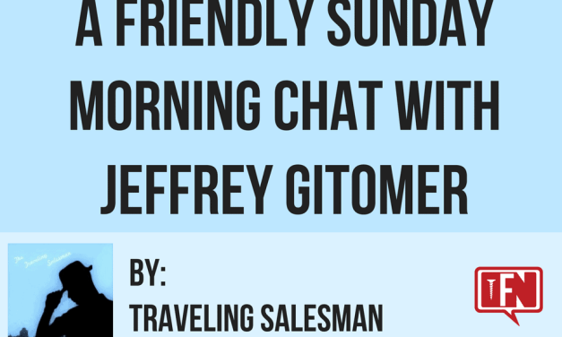 A friendly Sunday morning chat with Jeffrey Gitomer